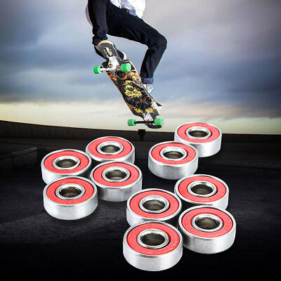 Au 10 Abec-7 608 Wheel Bearings F Skateboard Stunt Scooter Quad Inline Skate