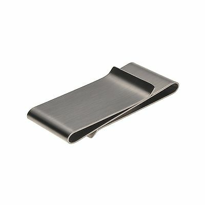 Stainless Steel Double Sided Silm Money Clip Credit Card Holder Wallet New