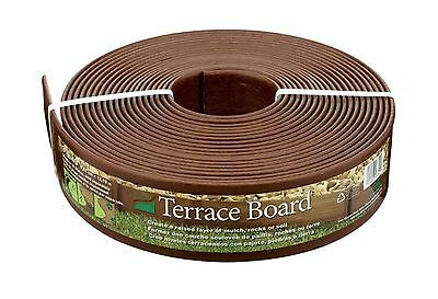 Master Mark Plastics 93340 40-Foot x 3-Inch Terrace Board Landscape Edgin... New