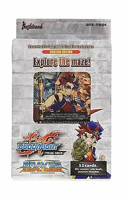 Future Card Buddyfight BFE-TD04 Braves Explosion English Edition Trial Deck New