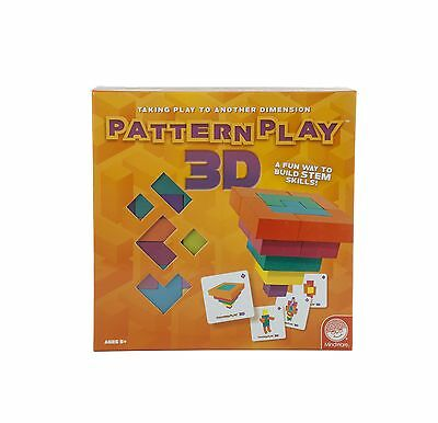 MindWare Pattern Play 3D Game New
