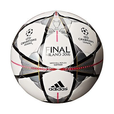 adidas UEFA Champions League Finale Milano Capitano Soccer Ball 5 New
