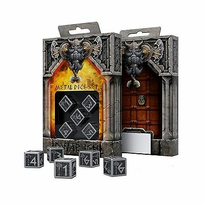 Metal D6 Dwarven Dice (5) BOX (dwarf metal D6 dice box) (Japan import / T... New