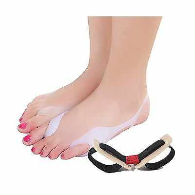 Toe Separators And Bunion Pads Toe Spacers 3 pcs - Bunion Corrector and B... New