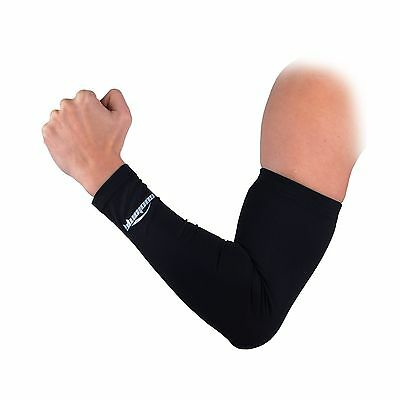 COOLOMG Anti-Slip Arm Sleeves Cover Skin Protection Black Large New