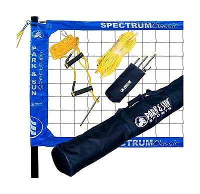 Park & Sun Sports Spectrum Classic: Portable Professional Outdoor Volleyb... New