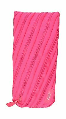 ZIPIT Neon Pencil Case Dazzling Pink New