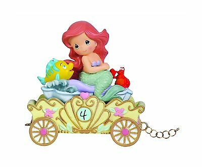 "Precious Moments 104406 Disney ""Make A Splash On Your Birthday"" Ariel Age... New"