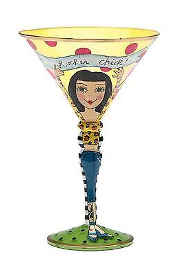 Appletree 5-Ounce Sugar High Social by Babs Martini Glass New