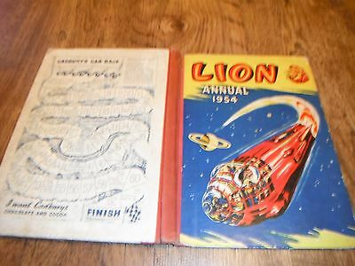 Lion 1954 Annual Captain Condor Pal O The Pygmies Operation Gunfire Wiz & Lofty