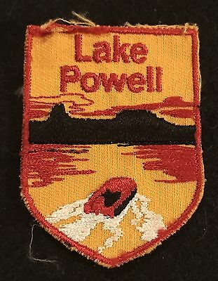 ARIZONA LAKE POWELL Vintage Patch State Souvenir Travel VOYAGER Embroidered