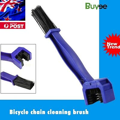 Motorcycle Bike Bicycle Motocross Chain Wheel Cleaning Brush Wash Cleaner Tool