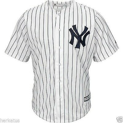 Majestic Athletic New York Yankees 2015 Cool Base Home Jersey + New Era Cap
