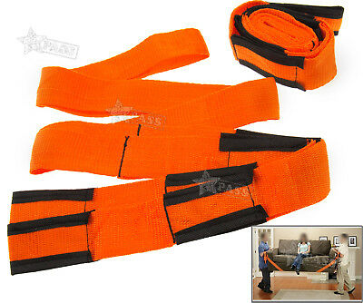 2X Lifting Shoulder Straps Moving Lift Aid Tool Heavy Furniture Appliances Dolly