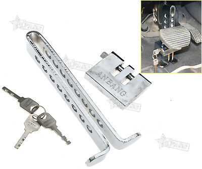 Anti-theft Device Clutch Lock Car Brake Stainless Strong Security Lock Tool