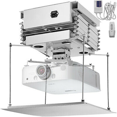 "39"" RC Motorized Electric Lift Scissors Ceiling Projector Mount Bracket"