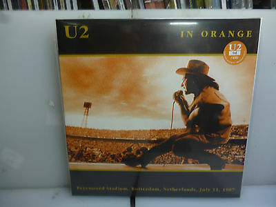 U2-In Orange. Rotterdam, Holland 1987.-Gatefold 2Lp Orange Vinyl-New. Sealed