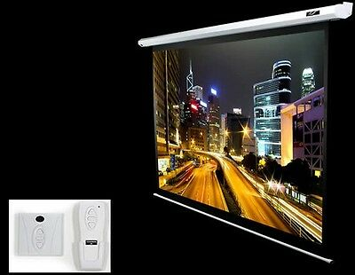 """Brand NEW Elite Screens Electric106X 106"""" 16:10 Black projection screen"""