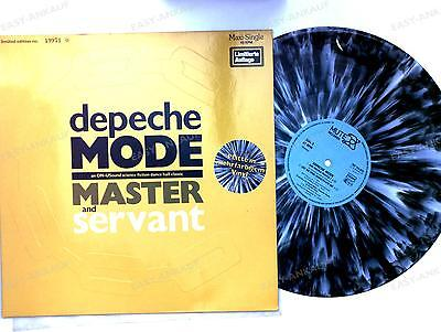Depeche Mode - Master And Servant GER Maxi 1984 Ltd Nbd Ed Grey Marbled Wax //2