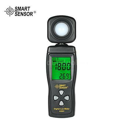 Digital Lux Meter Luminometer Photometer Luxmeter Light Meter 0-200000Lux S0E2