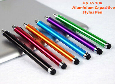 Aluminum Alloy Touch Screen Stylus Pen Capacitive For Apple iPhone 5 6S Samsung