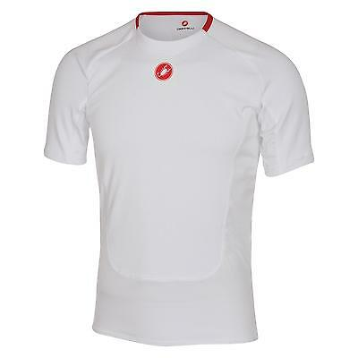 Castelli PROSECCO SS Winter Cycling Baselayer - White