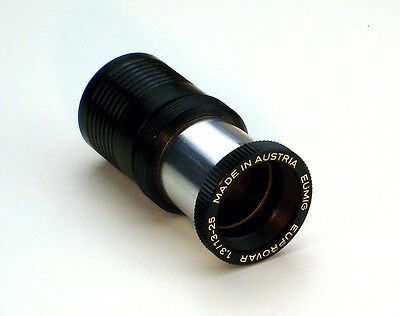 Lens for 8mm Eumig Film projector Euprovar 1,3 / 13-25