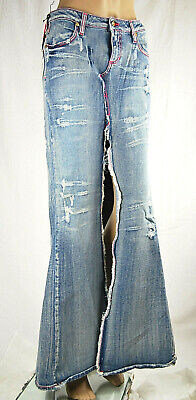 Gonna Maxi Jeans Donna MET Made in Italy Kalley Fluo SA165 Tg XS S M L veste++