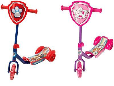 Paw Patrol 3 Wheel Tri Scooter Ride On Outdoor Toy Boys Girls Kids New Official