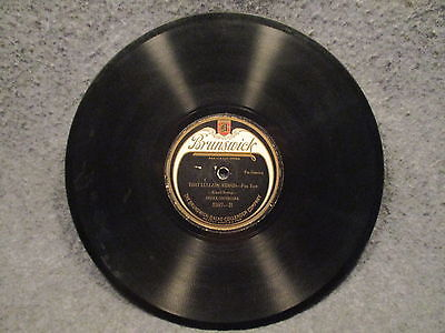 """78 RPM 10"""" Record Oriole Orchestra Theres Yes Yes In Your Eyes That Lullaby 2587"""