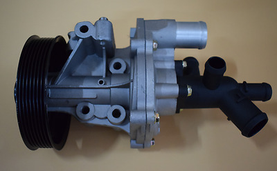 New Water Pump With Connector For Transit Mk6/mk7 2.4 L Diesel