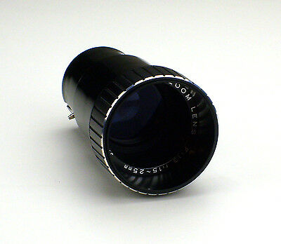 Lens for 8mm Elmo GS and ST 1200 Film projector Super Zoom Lens 1,3 / 15-25