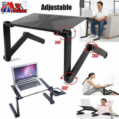 Portable Adjustable Laptop Computer Notebook Desk Stand Table random color
