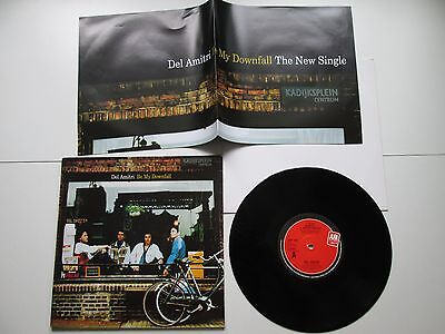 "Del Amitri - Be My Downfall 4-Track 10"" With Poster, 1992, Uk"