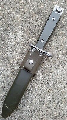 Rare Swiss sig current issue bayonet for SIG 5 5 0 S G od green latest knife