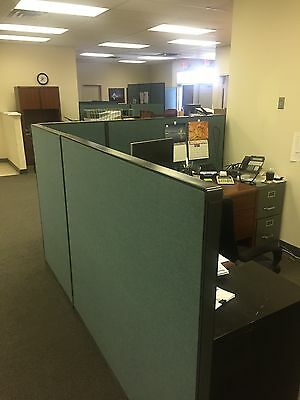 STEELCASE-Office Cubicle Partitions Wall Divider Modular - USED - ~90 feet