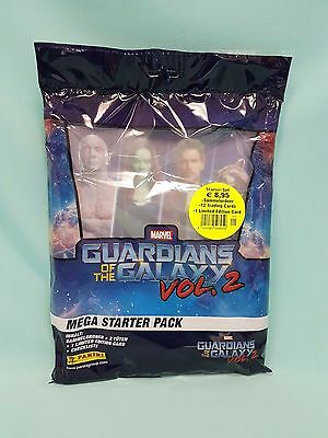 Panini Guardians of the Galaxy Vol. 2 Starterpack + 5 Booster  Sammelmappe