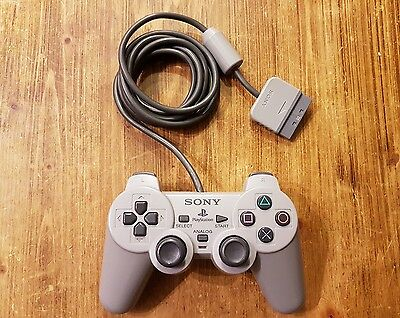 Sony Playstation PS1 SCPH 1180 Original Dual Analog Controller