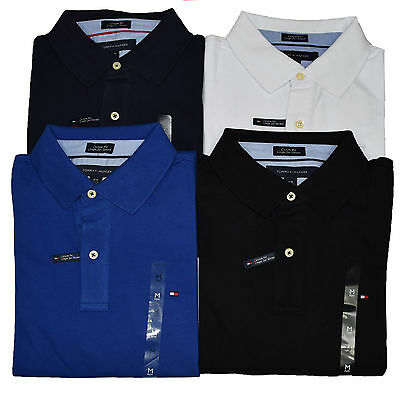 New Tommy Hilfiger Polo T Shirt for Men - Custom Fit Short Sleeve