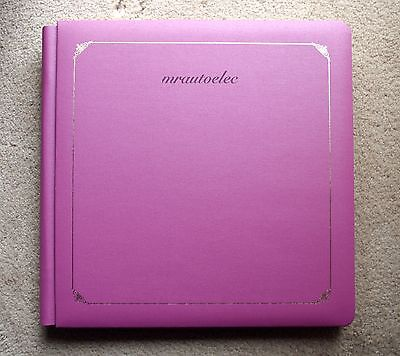 Creative Memories Mulberry Original 12x12 Album WITH WHITE PAGES BNWOP