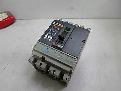 MERLIN GERIN 3 POLE CIRCUIT BREAKER -- 100amps NS160N - w/TM100D Trip unit