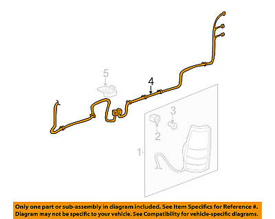oem new rear right passenger tail light wiring harness 03 07 78 ford f-250 wiring harness chevrolet gm oem taillight tail light rear wiring wire harness right 16531402