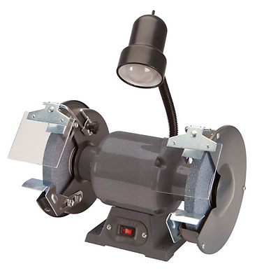 New Bench Grinder 8 in.  Speed Model /Work Light / Tool Lamp / 3.6 Amp/