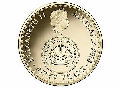 """2016  $2 Decimal Currency 50th ChangeOver Coin UNC """" FROM MINT ROLL """""""