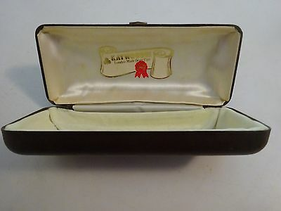 Vintage Leather Kaywoodie London Made Briar Pipe Case