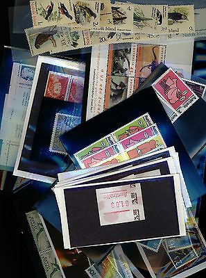 Australia / Cocos / Norfolk Island Stamp Collection - 5 pages - MNH