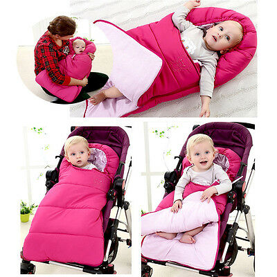 Baby Pram Stroller Pushchair Footmuff Car Seat Cot Bed Sleeping Bag Apron Cosy