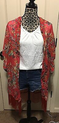 Women's One Size Fits Most Kimono Brand New With Tags