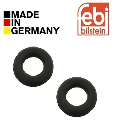 2x Universal Exhaust Rubber Mount Mounting Hanger Ring Inner Diameter 30mm