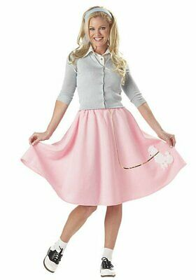 California Costumes Collections 00830 50's Poodle Skirt Costume